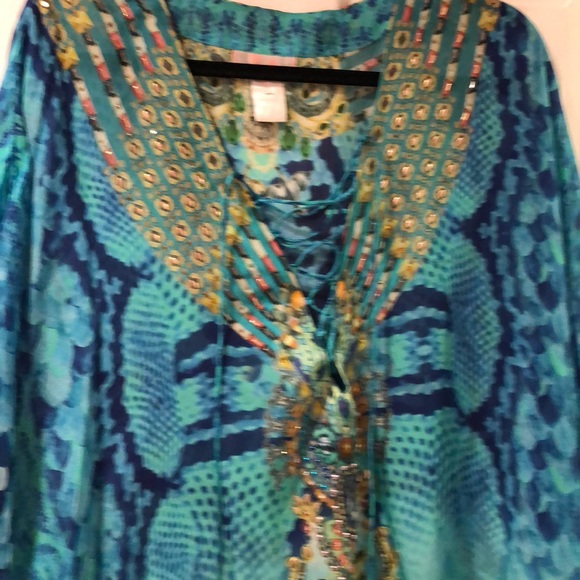 Camilla Tops - 100 silk tunic. New without tags